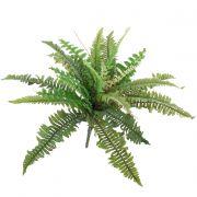 Umělá rostlina ledviník ztepilý SAMUEL, na zápichu, zelená, 40cm, Ø50cm