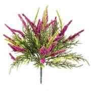 Umělý vřes ALMINA na zápichu, růžová, 20cm, Ø0,5cm