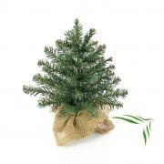 Umělý vánoční stromek ATHEN, jutový pytel, 30cm, Ø20cm