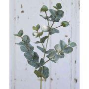 Umělý eukalyptus INGOLF, zelenošedý, 55 cm