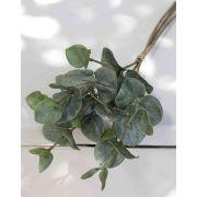 Umělá parta z eukalyptu INGOLF, zeleno-šedá, 30cm