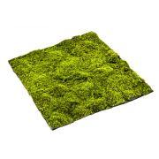 Umělecká rašelinová podložka netkaná FERMIN, zelená, 100x100cm