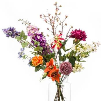 Vlastní květinová vazba